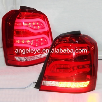 2001-2007 year For Toyota Highlander LED Rear Lights Red White Color YZ
