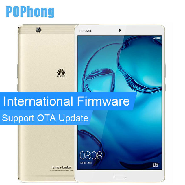 International Firmware Huawei MediaPad M3 4GB RAM 128GB ROM Android Tablet PC 2K Screen Kirin 950 Octa Core 8.4 '' GPS
