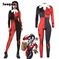 Suicide Squad Sexy Batman Zentai Bodysuit Adult Batman Joker Harley Quinn Arkham Asylum Halloween Costumes Cosplay