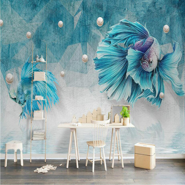 Damask Silk 3d Mural Wallpaper For Walls Living Room Home Improvement Decor Modern Background