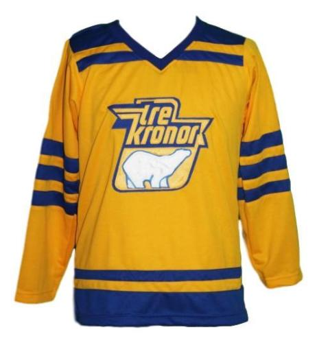 Vintage Retro Sweden Tre Kronor Hockey Jersey Embroidery Stitched Customize  any number and name size Jerseys be15b207f