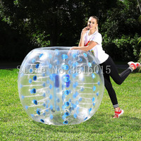 Free Shipping Inflatable Bumper Ball 1.5m (5FT) Bubble Soccer Ball TPU Material Zorb Ball Human Hamster Ball for Adults