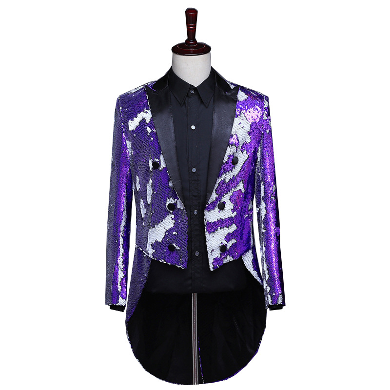 Men/'s Lavender Shiny Satin Dress Shirt Great with Tuxedo for Wedding Prom Formal