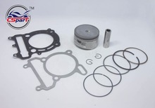 72.5MM Piston Ring Gasket Kit For VOG LINHAI YP VOG 300 300cc Tank Touring  JCL Buyang D300 Gsmoon ATV Buggy Scooter Parts
