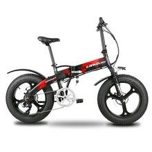 Lankeleisi X2000Plus Электрический велосипед шина электронного велосипеда 7 скоростей полная подвеска складной 500 Вт Мотор 48 В 12.8A литиевая батарея E-Bike