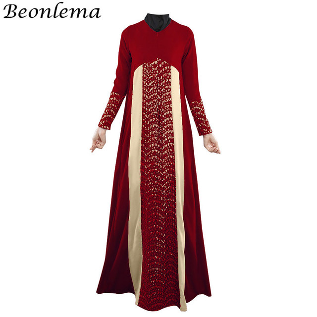 4a1052d86afb35 Beonlema Muslim dress Women Moroccan Kaftan Turkish Abayas Long Vestido  Islamic Party Dresses Dubai Maxi Dress Fashion Abaya. 2 orders