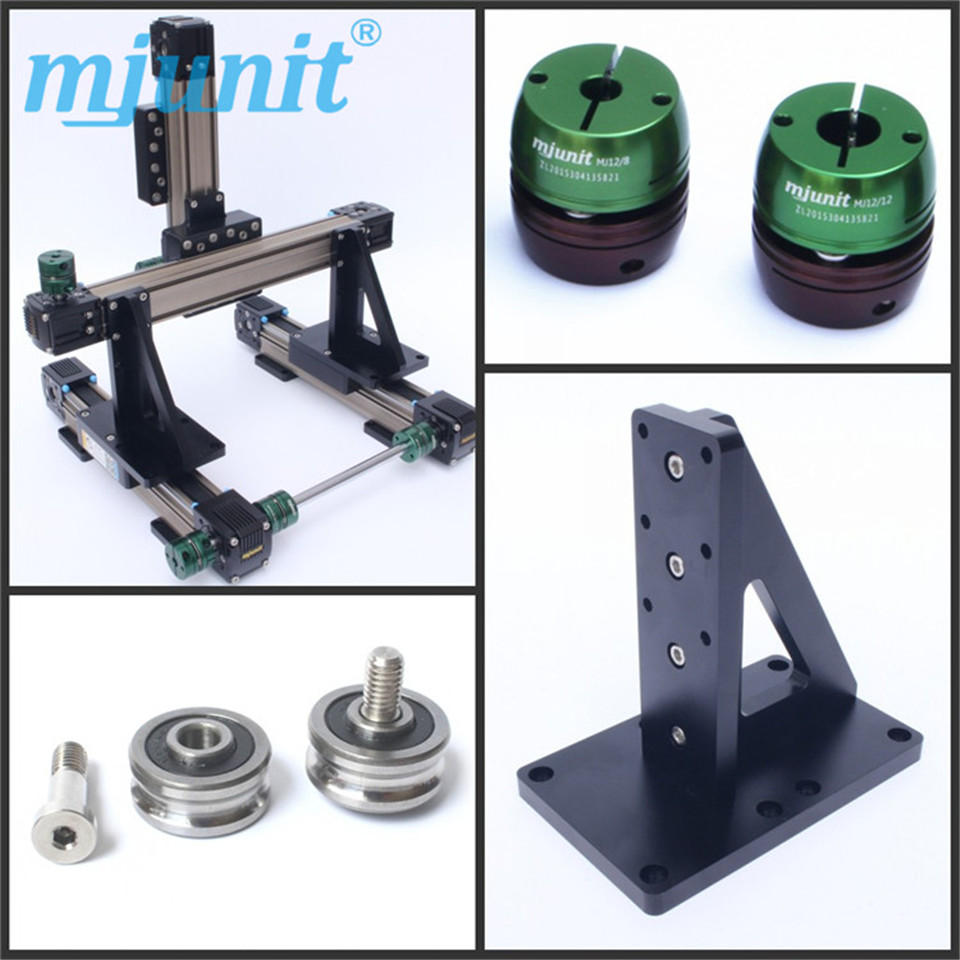 mjunit Linear sliding table linear module for electric CNC sliding table industrial manipulator hlq6 10sat 20sat 30sat 40sat 50sat airtac sliding table cylinder