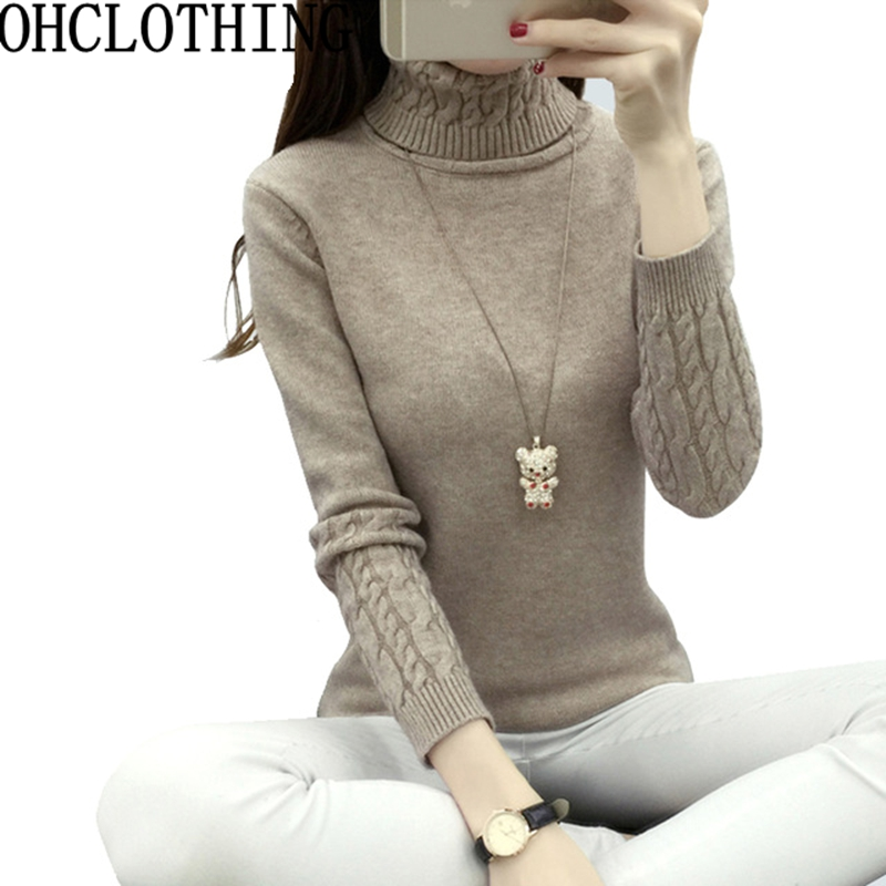 OHCLOTHING turtleneck Women pullover sweater