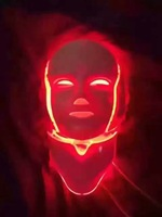 7 Colors Light Photon Electric LED Facial Neck Mask Skin PDT Skin Rejuvenation Anti Acne Wrinkle