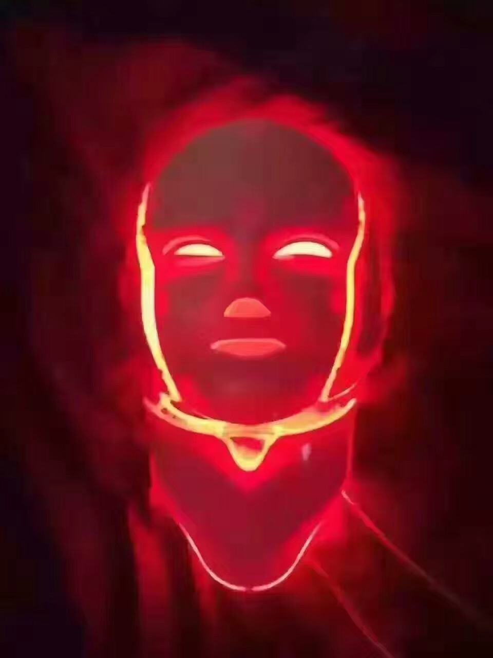 7 Colors Light Photon Electric LED Facial Neck Mask Skin PDT Skin Rejuvenation Anti Acne Wrinkle Removal Therapy Beauty Salon 7 colors light photon electric led facial neck mask skin pdt skin rejuvenation anti acne wrinkle removal therapy beauty salon