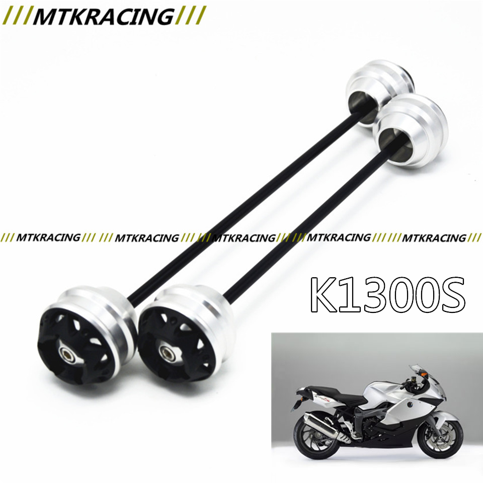 MTKRACING Free shippin for BMW K1300S 2006-2015 CNC Modified+Motorcycle Front wheel drop ball / shock absorber