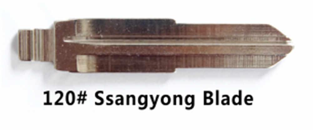 KEYECU 10 adet/grup KEYDIY Evrensel Uzaktan Kumanda Anahtarı Çevirme Bıçağı 120 #, HYN10 Hyundai Ssangyong,
