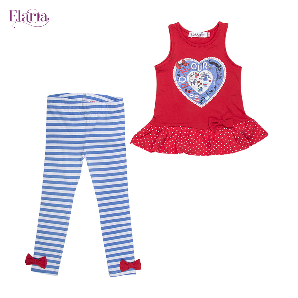 Children's Sets Elaria ESg-23-1 Children Clothing set of boys and girls db6077 dave bella autumn infant boys active clothing sets children suit high toddler outfits clothing suits