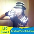 Новый Светодиодный Лазерные Перчатки и очки Прохладный Обуви Светящиеся Перчатки Производительность Этап Танцор Бар Партии Клуба Шоу, Оборудование Для