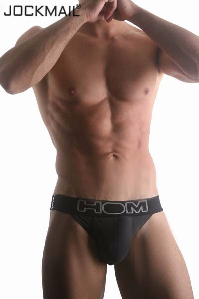 HOM Brand Sexy mens underwear briefs Breathable Nylon ice silk Men's Bikini Briefs panties Shorts underpants cueca Gay underwear