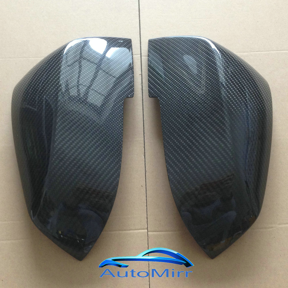 Kibowear for BMW F20 F30 F31 F21 F22 F23 F32 Carbon Fiber Mirror Covers Caps F33 F34 X1 E84 Side Wing 1 2 3 4 series Replace