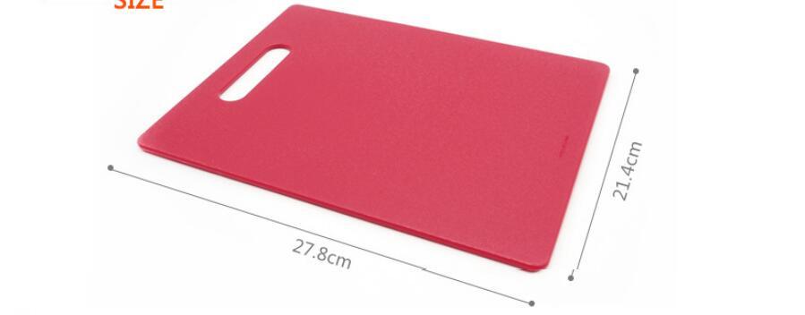 20 PCS 27.8x21.4cm Fruit Chopping Board Chopping Block Plastic Cutting Board Cutting Board Antibiotic Kitchen Utensils