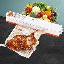 Пищевая вакуумная упаковочная машина 110 В 220 В пленка упаковщик вакуумная упаковщик хранение рулонов 10 шт. пакеты лучший вакуумный упаковщик еды