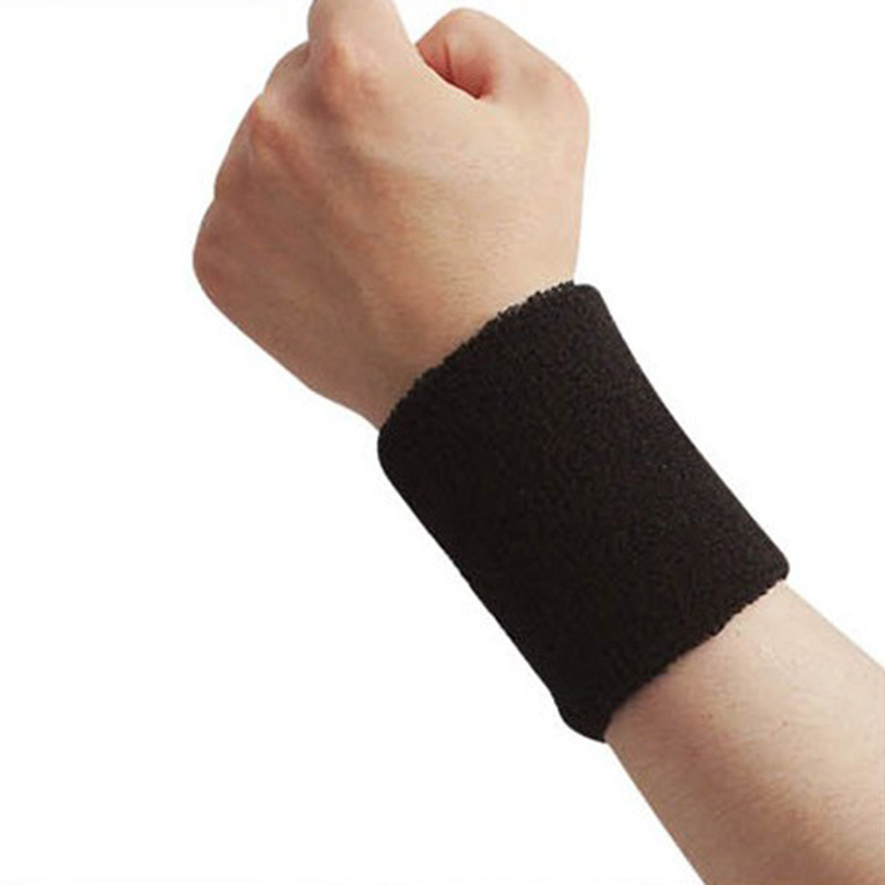 Wristband Sweat, Running, Fitness, Tennis Badminton Basketball, Strap Wrist 5