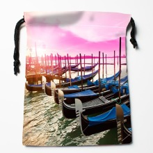 New Arrive Ship Drawstring Bags Custom Storage Bags Printed gift bags More Size 27x35cm DIY your picture