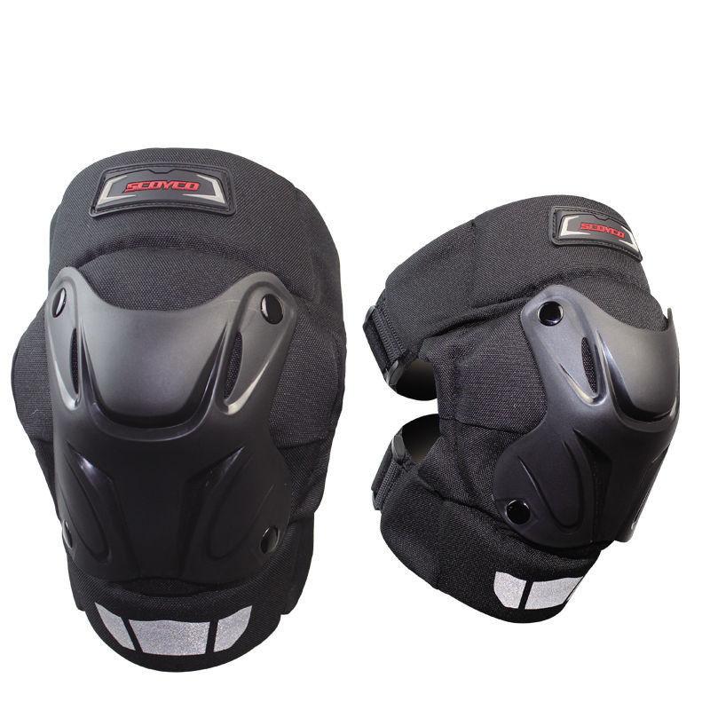 Scoyco Motorcycle Motorbike Motocross Racing Knee Pads Off Road Gear Protector