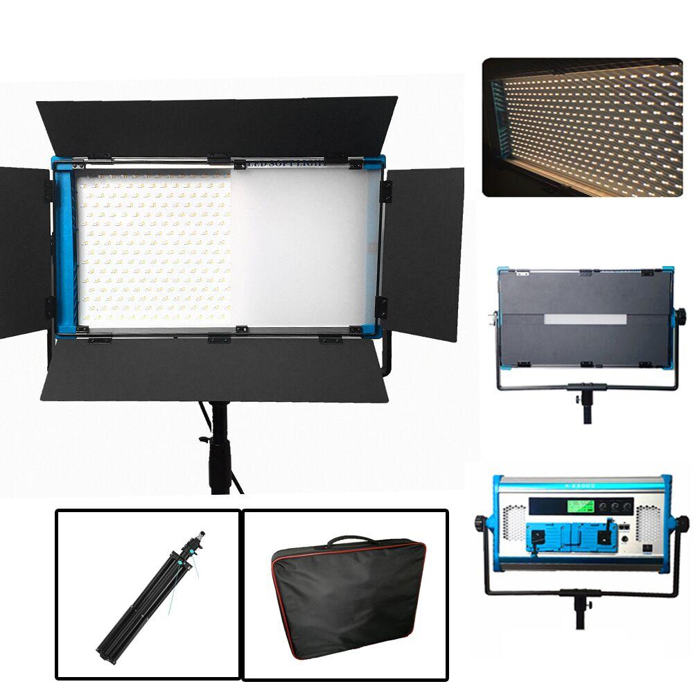 New APP & Remote Control RGB LED Lamp Photography Continuous Soft Lighting Set Photo Studio Video Film Light + tripod + handbag