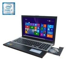 Gaming Laptop i7 8GB RAM 120GB SSD +750GB HDD 15.6inch Large Notebook PC DVD Metal Case AZERTY Italian Spanish Russian Keyboard(China (Mainland))