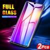 2 Pcs/lot verre trempé pour Meizu Note 9 8 16X16 th protecteur décran Anti Blu ray verre pour Meizu 16 16th 16X film de protection