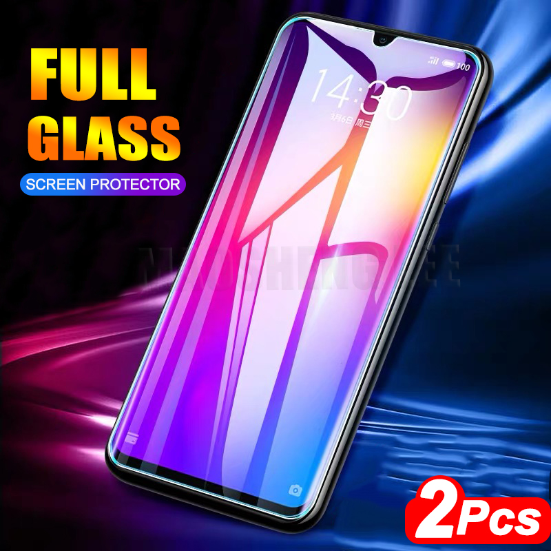 2Pcs/lot Tempered Glass For Meizu Note 9 8 16X 16th Screen Protector Anti Blu-ray Glass For Meizu 16 16th 16X Protective Film
