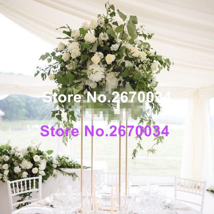 Wedding Flower Arrangements For Tables: Tall Nice Wedding Center Flower Stands & Table Flower
