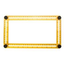 Measuring Instrument angle izer Template Tool Four sided Ruler Mechanism Slides For Builders Handymen Craftsmen Engineers