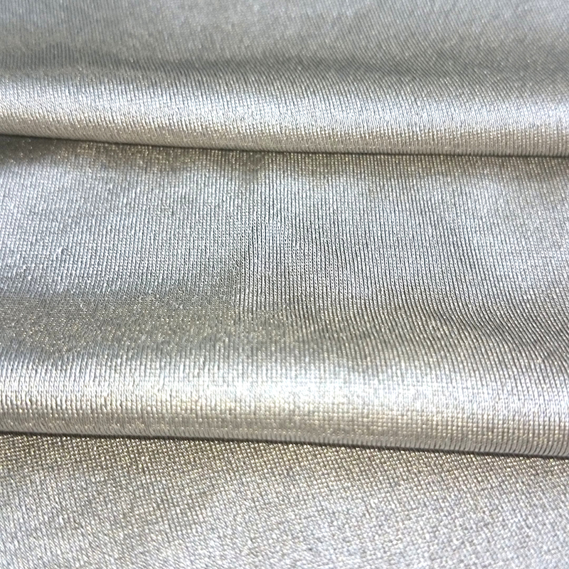 4-way stretch silver EMF/RF shielding fabric
