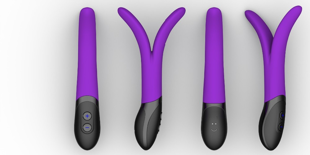Massager Dual Vibrator Waterproof 9