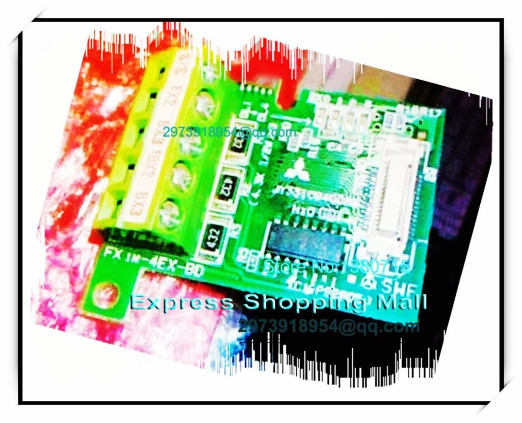 New Original FX1N-4EX-BD PLC Input Expansion Board  цены