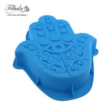 FILBAKE Big Corn Eye Vormige Cake Pan Silicone Mold Bakvormen Zeep Lade Cupcake Mold(China)