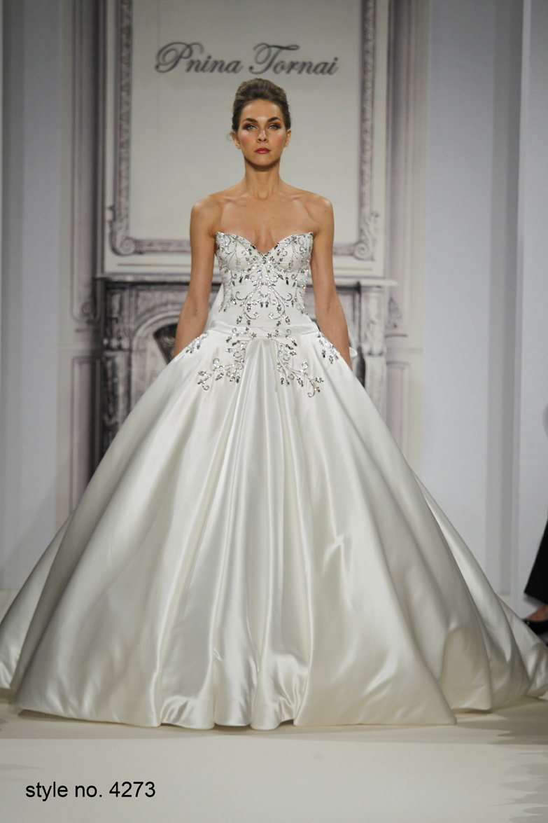 Gorgeous Sweetheart Satin Embroidery Ball Gown Pnina Tornai Lace Up