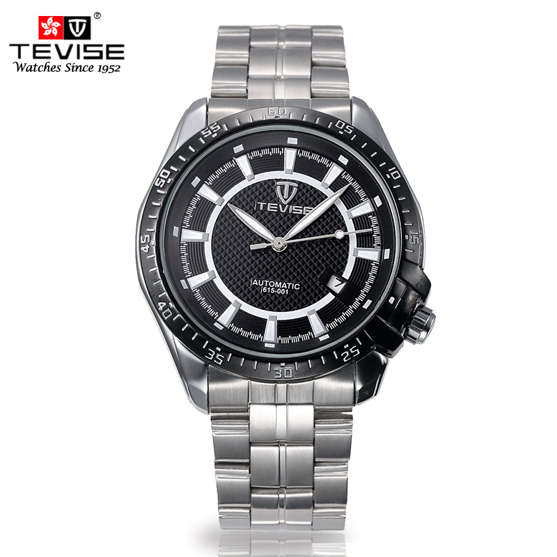 2017 New Men Watches TEVISE fashion sports Men's Luxury Brand Automatic Mechanical Watch Wristwatch relogio masculino Free Ship original tevise famous men s watches brand luxury men s 6 hands auto mechanical wristwatch gift box free ship