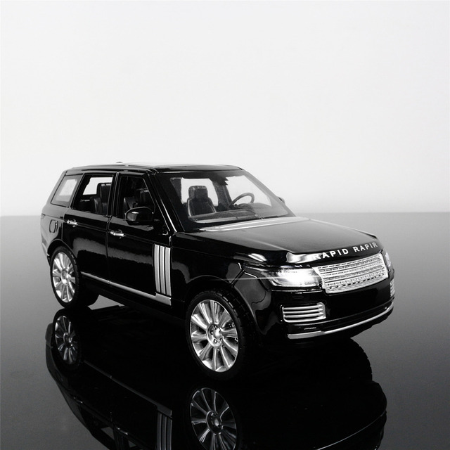 1 24 Free Shipping Range Rover Alloy Diecast Car Model Pull Back Toy