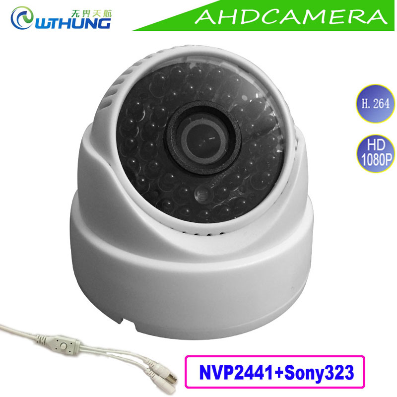 2MP 1080P AHD Dome Camera home indoor use Sony323 Sensor 4 in 1 OSD Motion Cam IR Night Vision for security cctv montior cameras