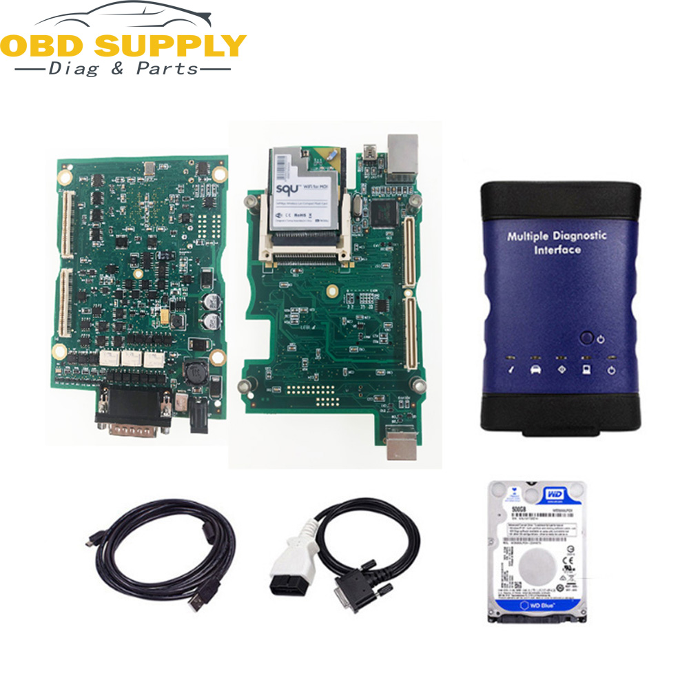 V2018 New for GM MDI Multiple Diagnostic Interface For GM MDI WIFI Multi Language For GM MDI Scanner as vxdiag for gm