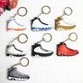 Иордания 9 Брелок, тапки Брелок Ключа Кольцо для Женщины и Девушки Подарки Porte Clef