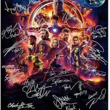Мстители Бесконечность войны ИСКУССТВО ШЕЛК постер декоративная стена картина 24x36 дюймов