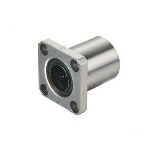 LMK50UU Square Flange Linear Bearing 50*80*100 mm ( 2 Pcs ) LMK 50UU LMK 50MM Series For Shaft Guide Rail Rod CNC Parts LMK50 UU