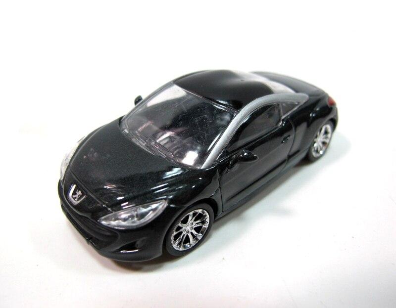 PEUGEOT NOREV 1:6 four alloy automobile mannequin WRZ brand PEUGEOT automobile mannequin