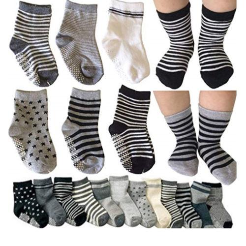 Marke Neue 2018 Kinder Mädchen Infant Kleinkind Baby Ankle Socken Cartoon Streifen Anti Slip Baumwolle Socken Gelegentliche Farbe 6 Teile/satz Verkaufsrabatt 50-70% Socken Mutter & Kinder