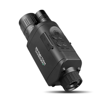 High Quality Night Vision with Wifi Function connect Smartphone 350m range in Full Dark IR Monocular HD Photo Video Telescope