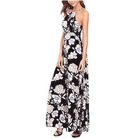 New Style Women Sleeveless Summer Boho Long Maxi Dress Beach Dresses Sundress Sexy Fashion Hot Sales