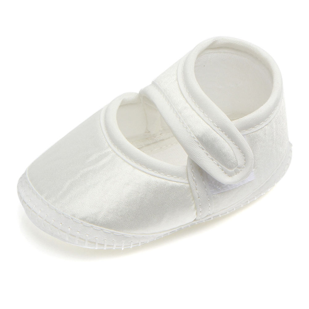 Baby Shoes Girl Spring Summer Sweet Casual Princess Kids Cotton Solid Crib Babe Infant Toddler Shoes