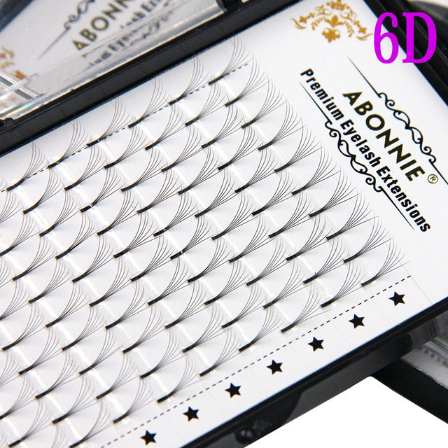 Abonnie 3d/4d/5d/6d Heat Bonded Pre Made Volume fans Faux Mink Premade Russian Volume Eyelash Extension Supplies 4