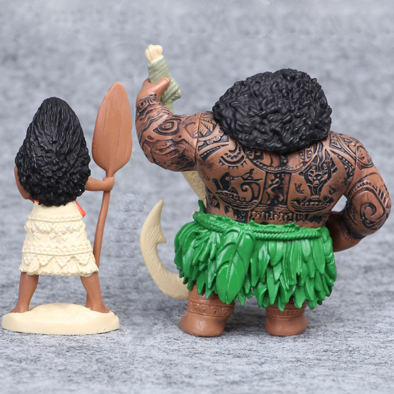 Թեժ է: 6-12 սմ կինոնկար Moana Princess Maui- ի - Խաղային արձանիկներ - Լուսանկար 4